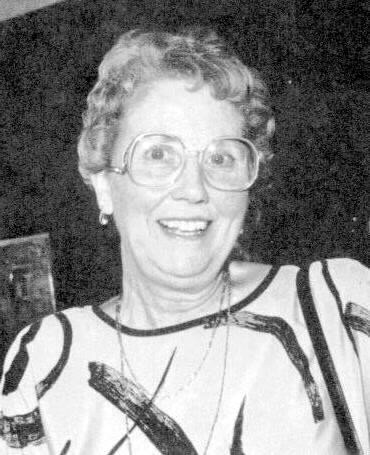 Former chief librarian Mary Radmacher