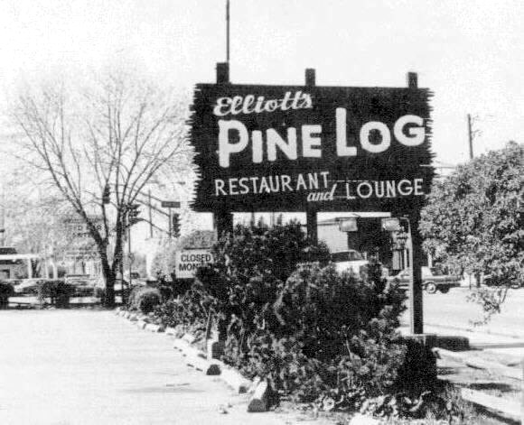 Restaurants and saloons have always been an important part of Skokie history. Elliott's Pine Log, just one of many, served customers at the corner of Howard and Skokie Boulevard from 1939 until its closing in 1988.