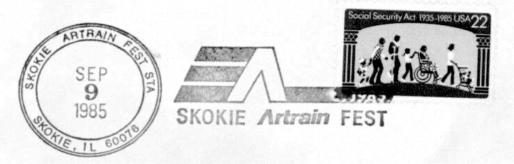 The visit of the Artrain in 1985 proved to be one of the most memorable examples of Skokie Spirit in the village's history.