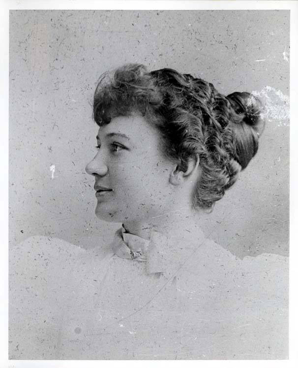 Alma Elizabeth Klehm, before 1900